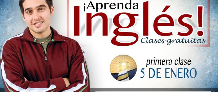 ¡Aprenda Inglés! — Clases Gratuitas