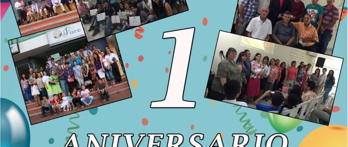 Celebración Aniversario No 1